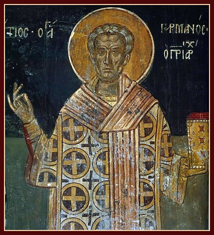 St. Germanos of Constantinople on the Church